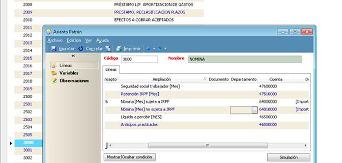 Agilice el proceso de introducción de asientos gracias a este módulo - Software contabilidad para autónomos