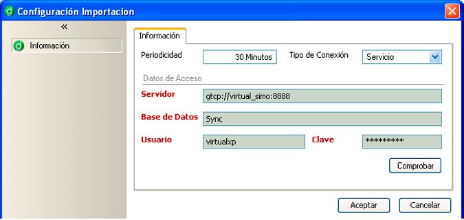 Sincronice con el servidor sus datos, indicando periodicidad y tipo de conexión - Ideal para comerciales y personal en ruta