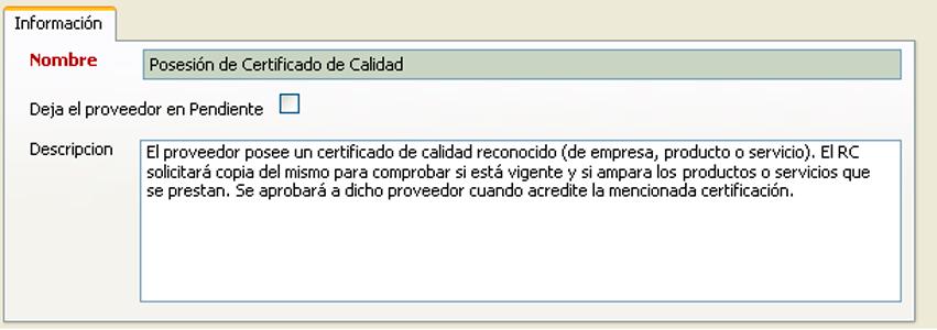 Automatice la elección de proveedores - Gestión ISO 9001