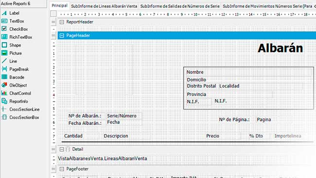 Impresiones personalizadas - Programa de facturacion online