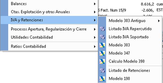 Gestione modelos como el 303, 347 y 390 - Software contabilidad para pymes