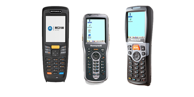 Recomendamos Honeywell ScanPall 5100, Motorola MC2180 y Honeywell 6100 - Software inventario