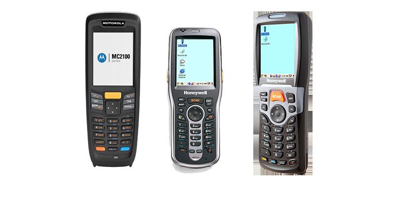 Recomendamos Honeywell ScanPall 5100, Motorola MC2180 y Honeywell 6100 - Software inventario