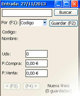 GotelGest.Net registro de albaranes - Gestión de almacenes