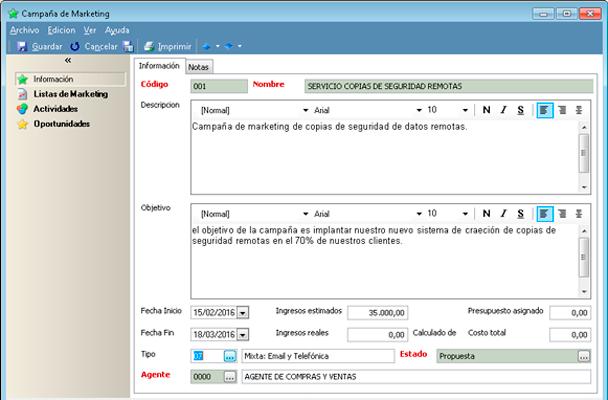 Incremente su facturación anual con el software CRM de GotelGest.Net a través de las campañas