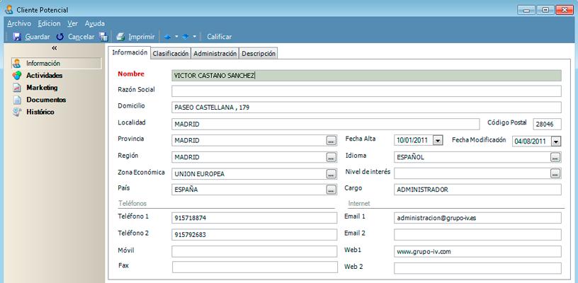 Incrementa tus oportunidades de negocio y encuentra clientes potenciales con el software CRM de GotelGest.Net